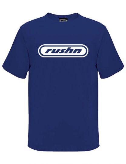 Rushn Logo t-shirt in a royal colour