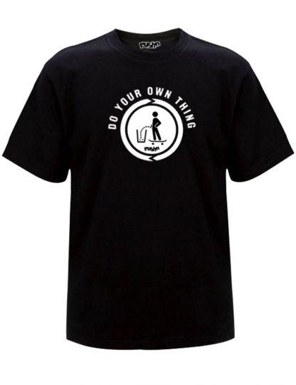 do you own thing mens black t-shirt