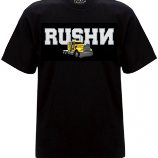 rushn t-shirt design called truck bangin