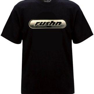 Metalic Logo Oldskool Mens Tshirt Black