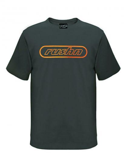 Skate Logo Oldskool Mens Tshirt Charcoal